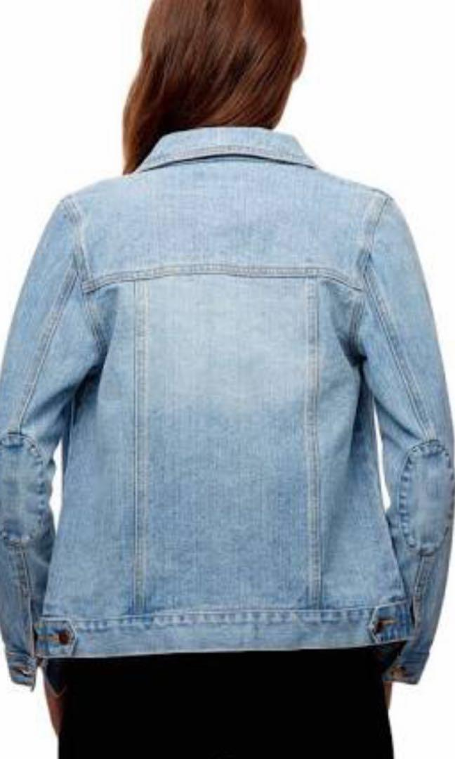 Brand new without tags Kookai denim jacket size 34 (6)