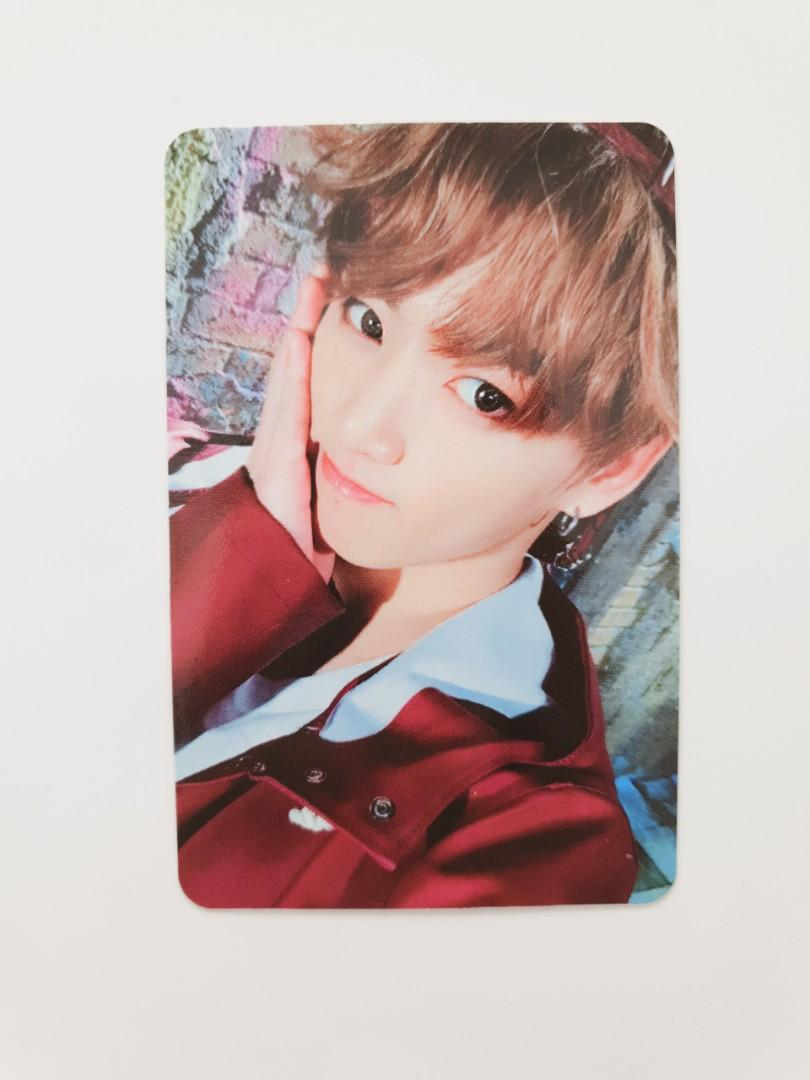 [OFFICIAL] BTS Jungkook Photocard | You Never Walk Alone (Pink Version)