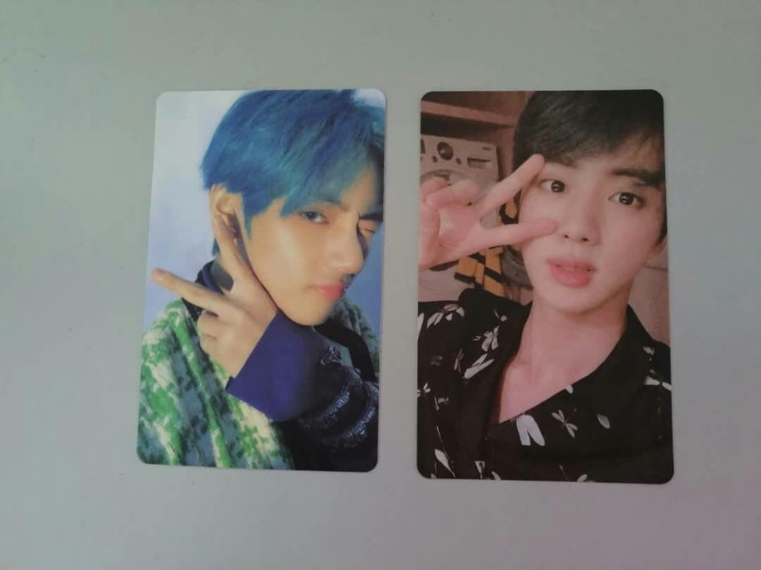 Bts Persona Official Photocard PC Map of the Soul Boy with luv Jin V Taehyung