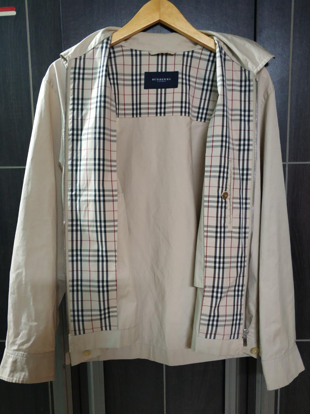 Burberry work jacket / harrington / nova / docmart