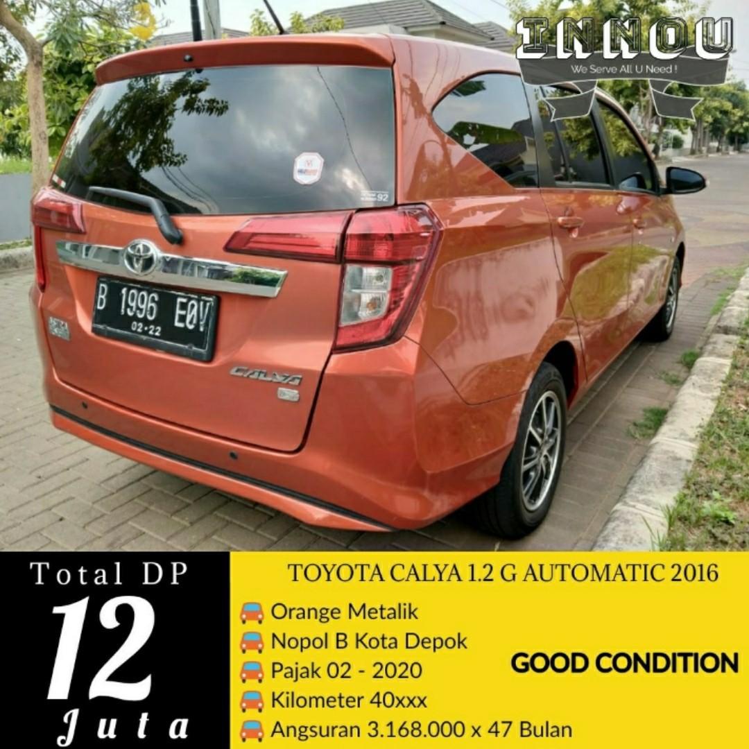 CALYA 1.2 G AUTOMATIC 2016 SIAP PAKAI