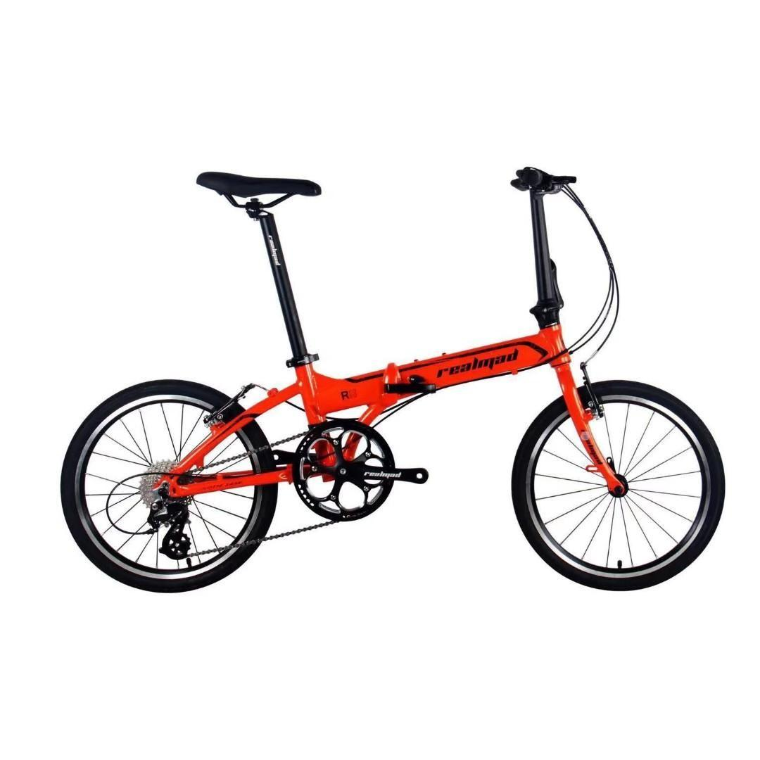 (Coming Soon!) Realmad Aluminium Alloy 20 inch Foldable Bike with Japan Shimano shifters (Recommended for food riders)