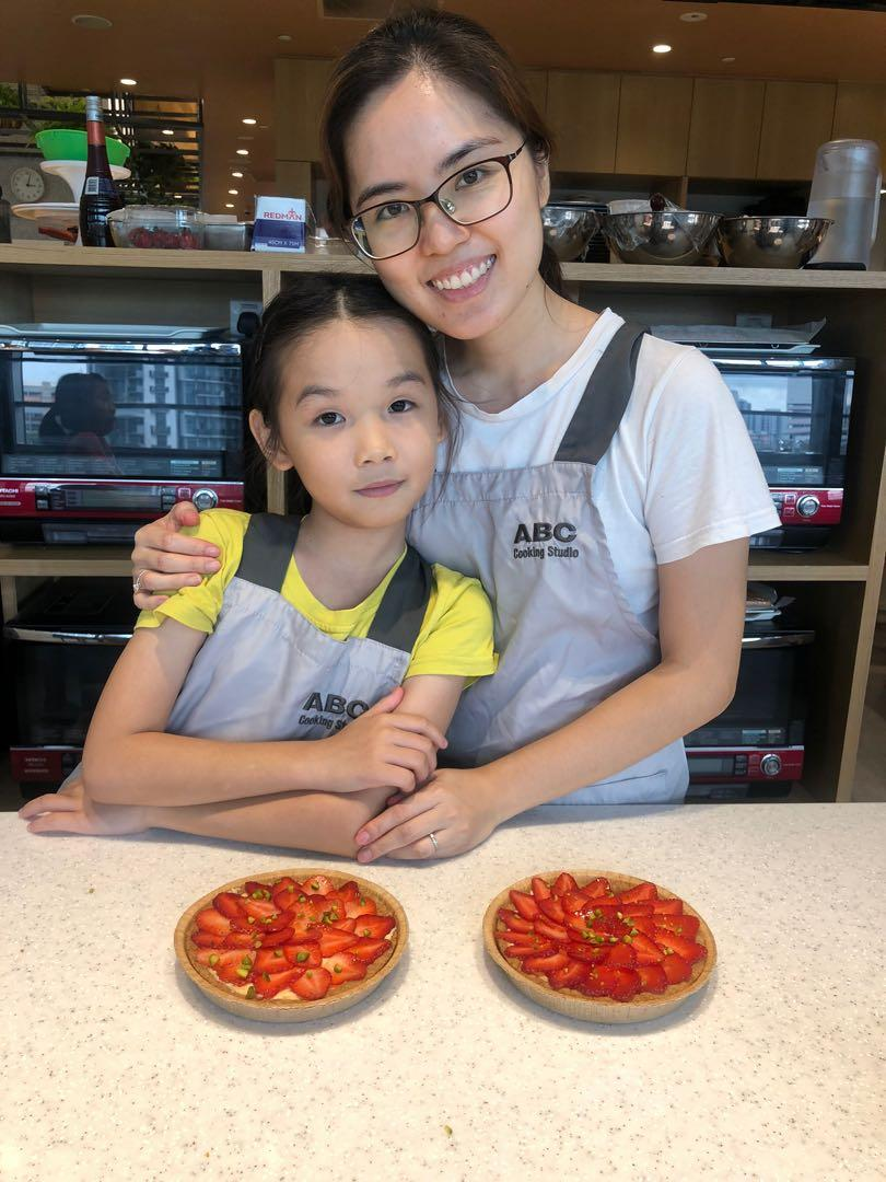 Dark Chocolate Tart Baking Class / Trial Lesson at ABC Cooking Studio