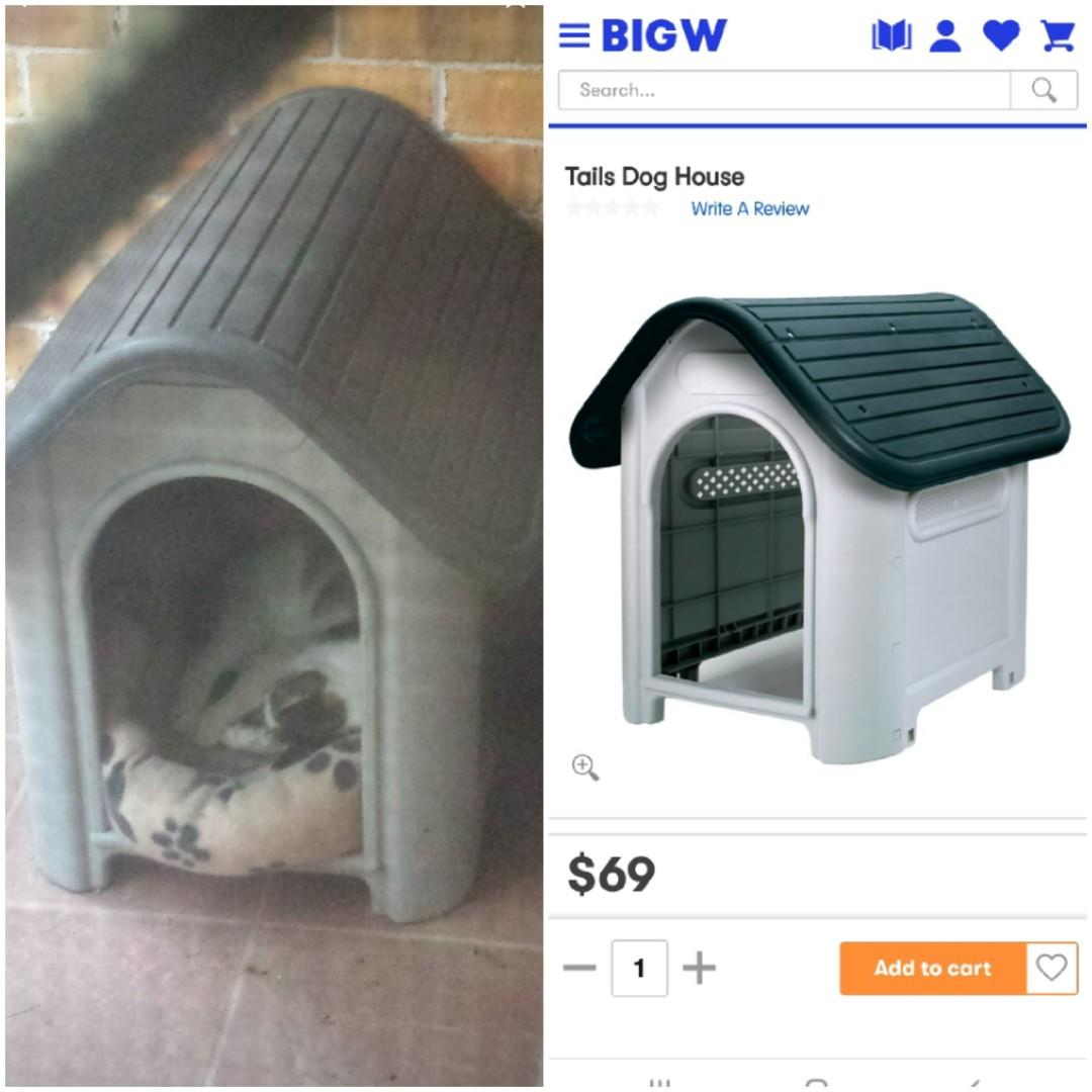 x1 $25 or x2 $40!!  Attention dog/cat lovers! house / kennel waterproof