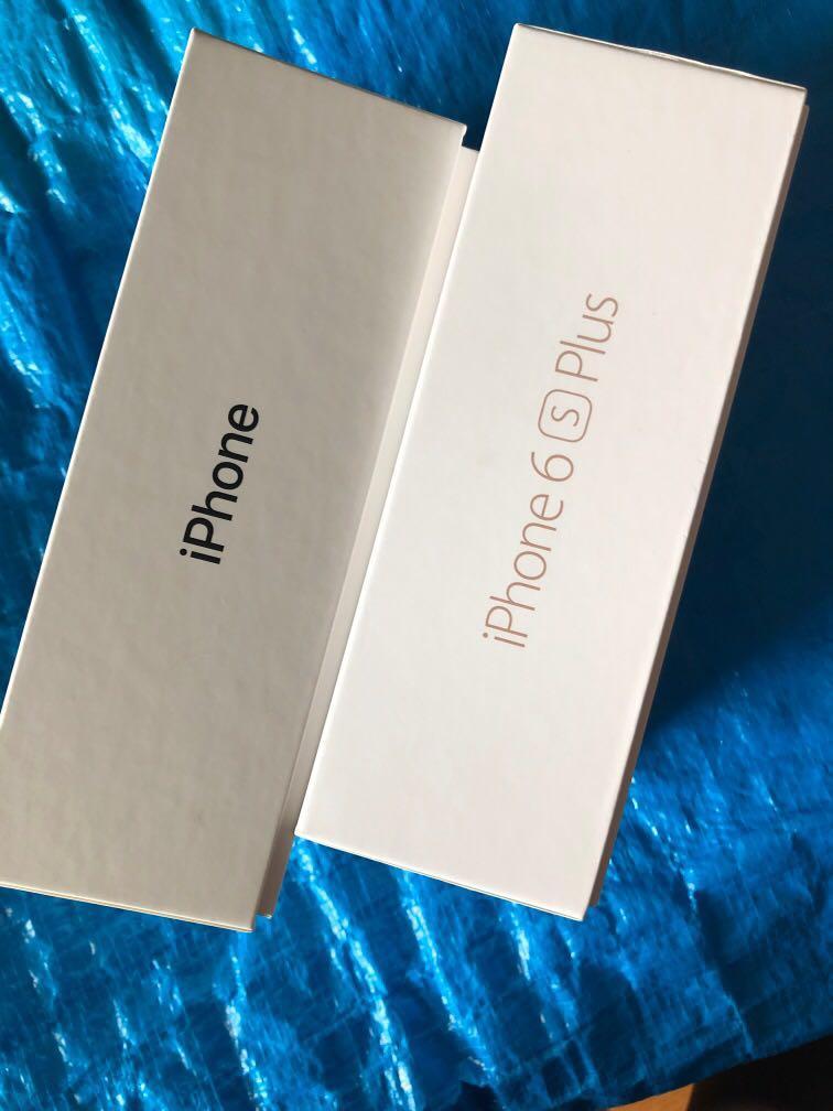 Empty iphone box iphone7