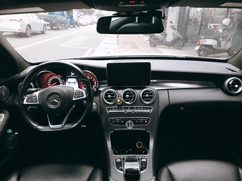 【FB搜尋桃園阿承】賓士 超人氣C300 2014年 2.0 白色 二手車 中古車