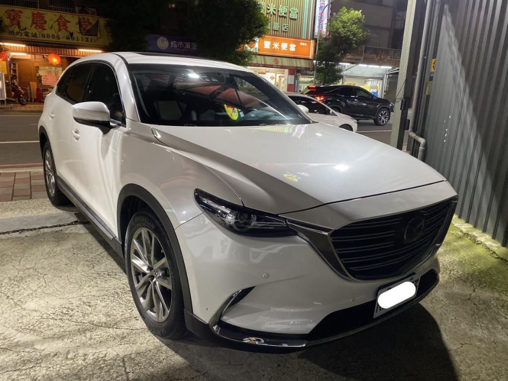 【FB搜尋桃園阿承】馬自達 超人氣CX-9頂級跑4萬 2017年 2.5 白色 二手車 中古車