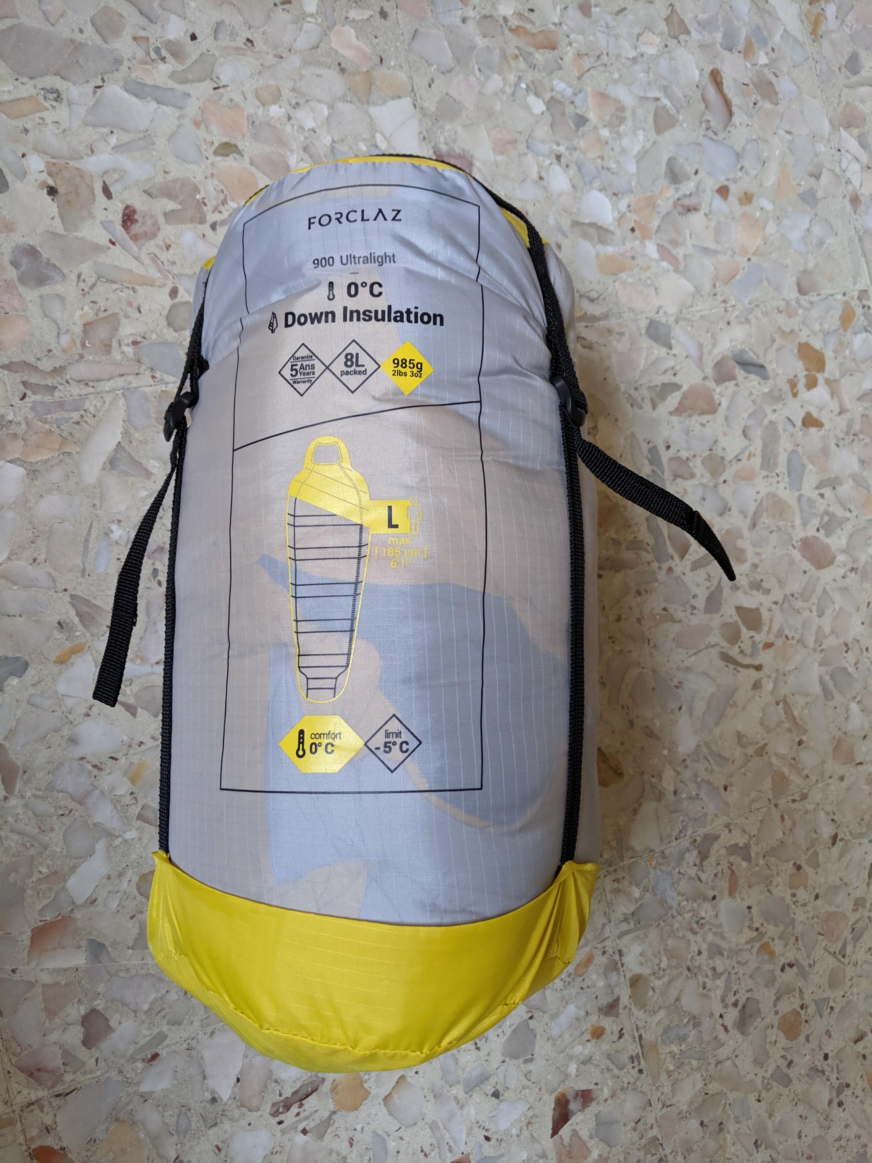 Forclaz Down 900 Ultralight 0 Degrees Sleeping Bag
