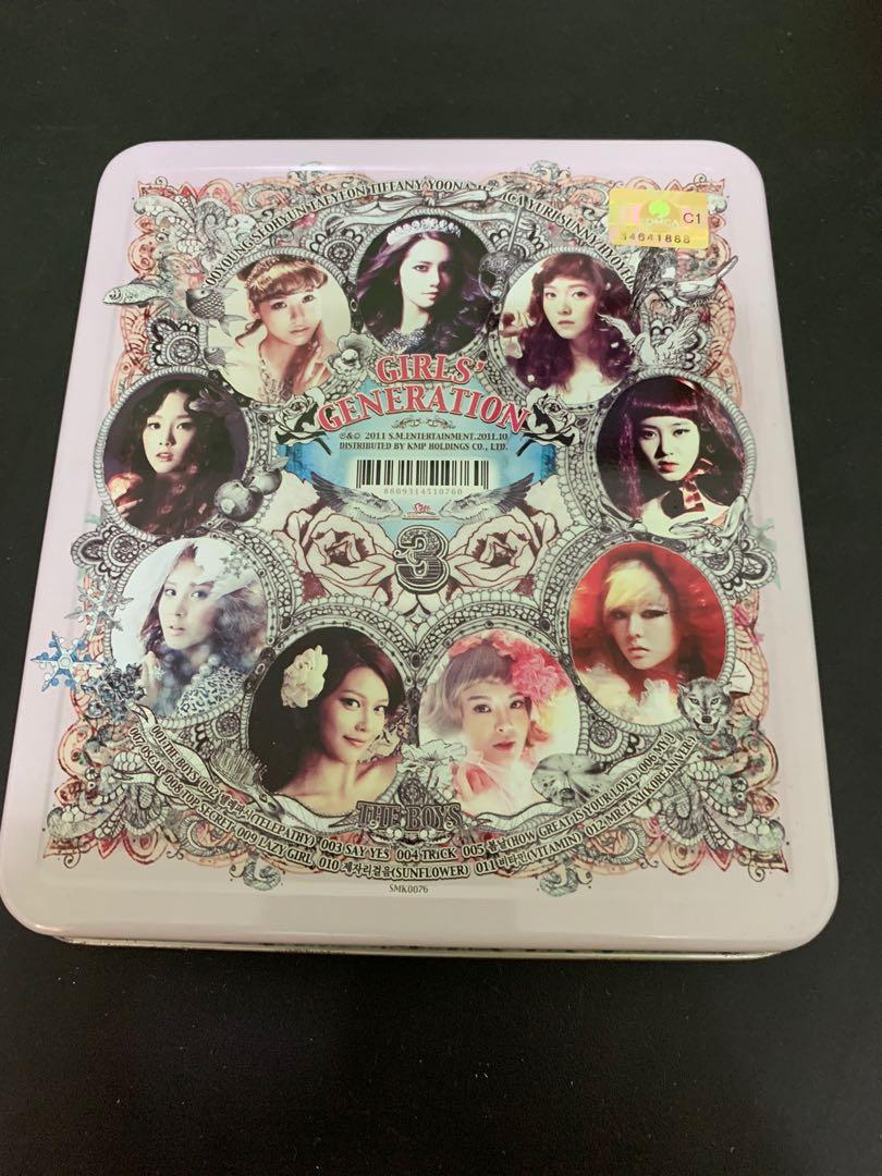 [CD+Poster x2] Girls' Generation - 3rd Album - The Boys