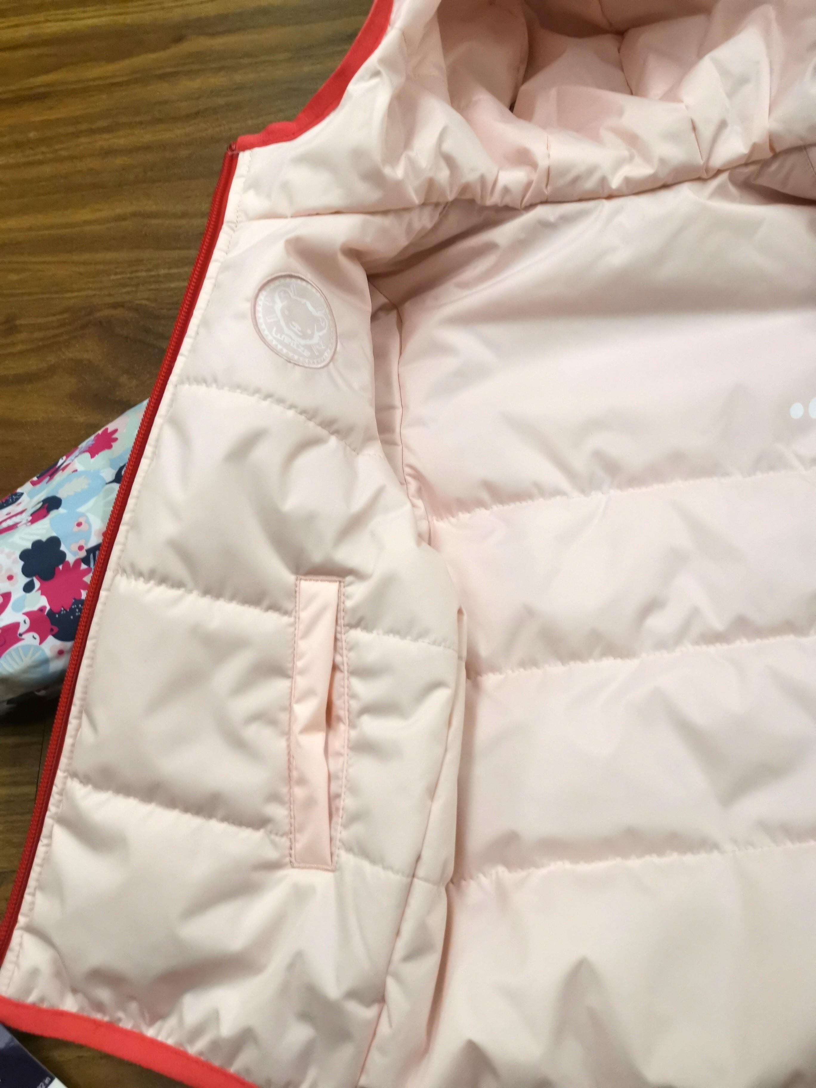 Girl's winter puffer jacket coat 18 - 24 mths