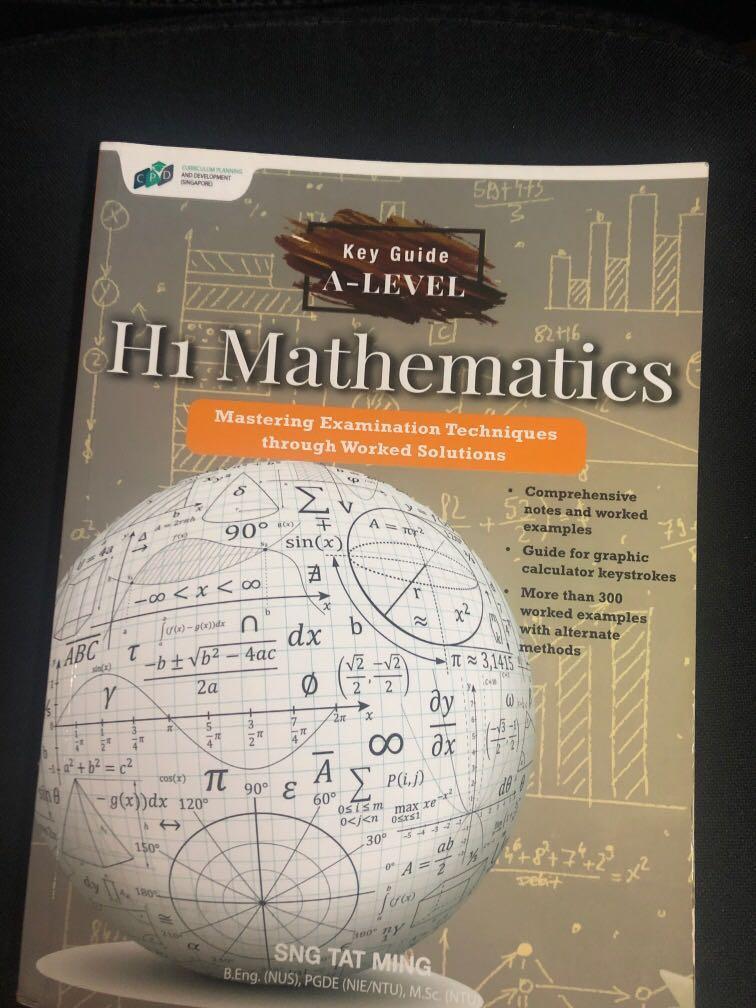 H1 math a level guidebook