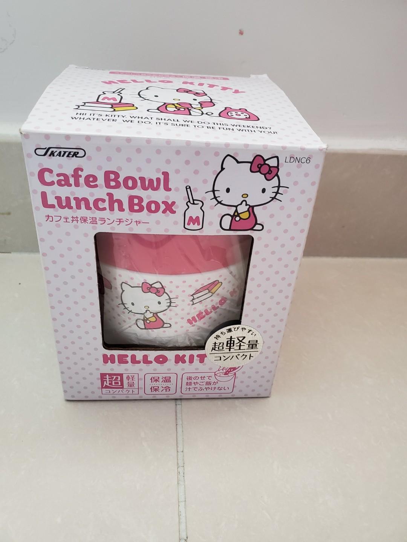 全新Hello Kitty 保溫飯盒