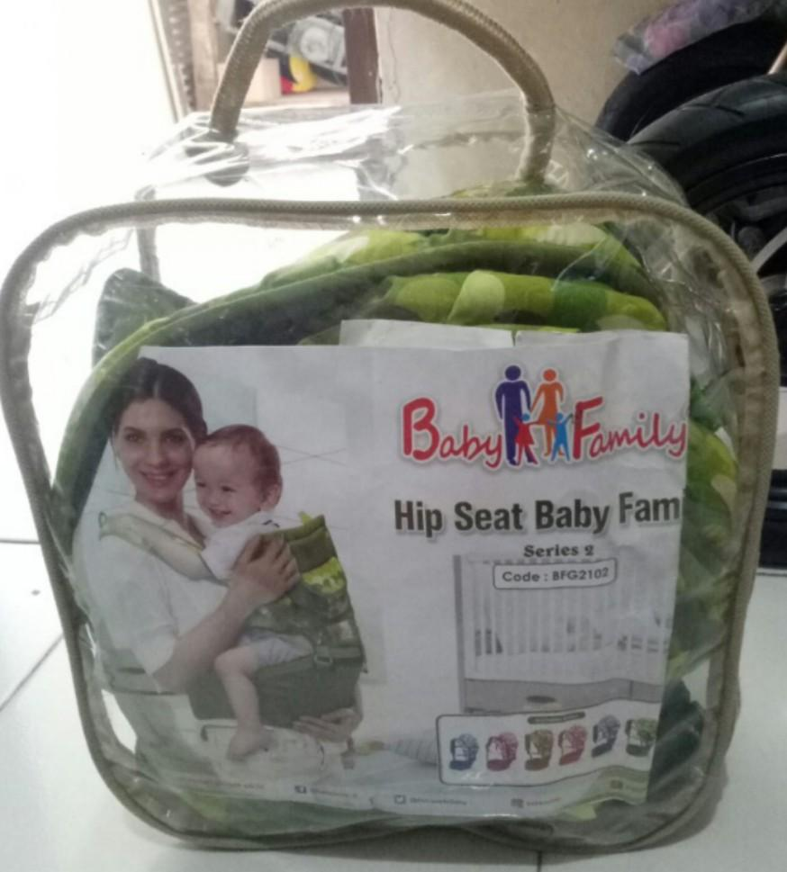 Hipseat baby family