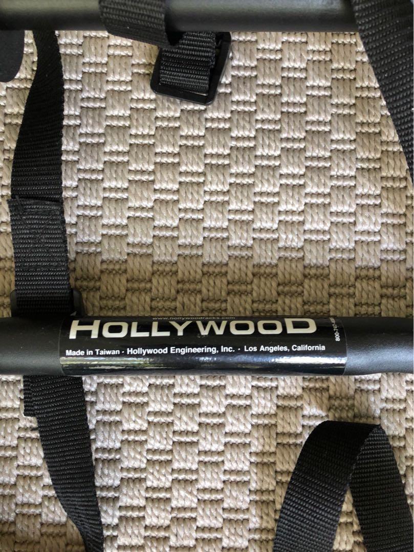 Hollywood bicycle rack.