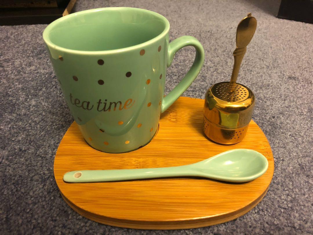 Indigo Tea Set