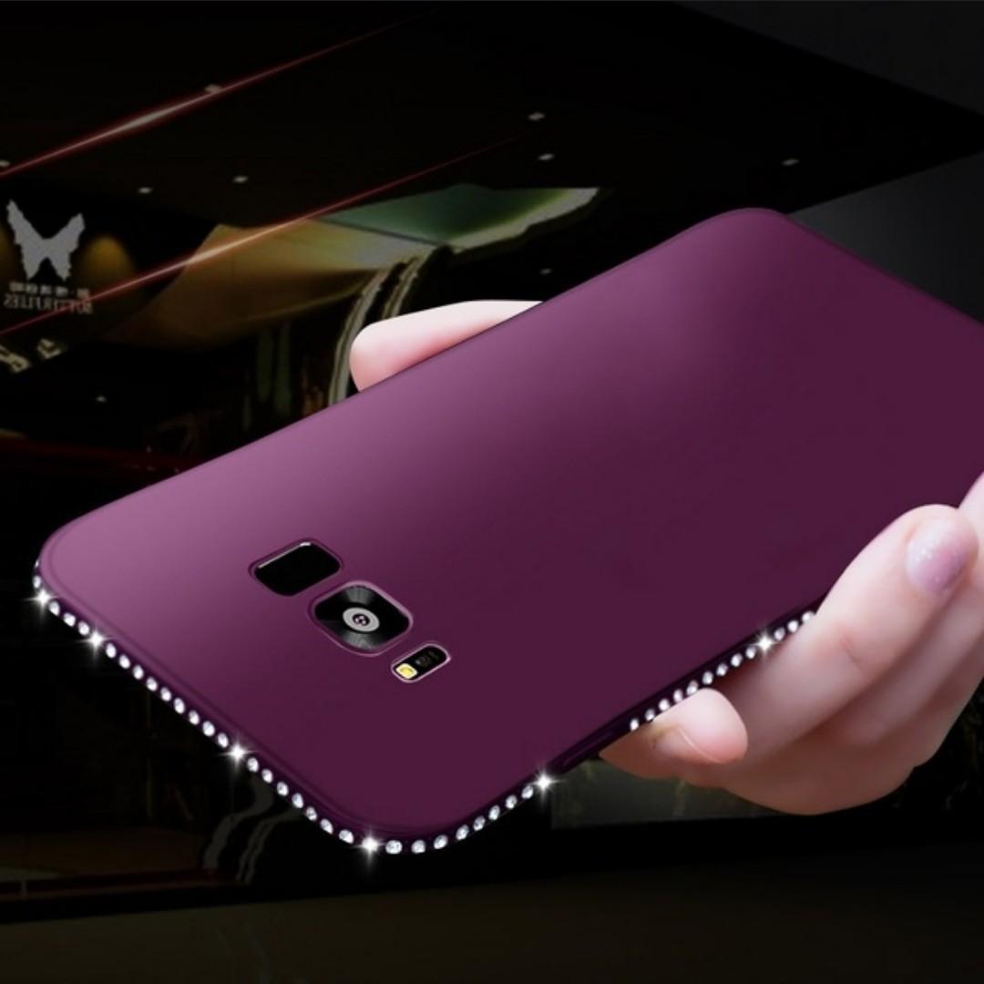 Iphone 6/6s Luxury Rhinestone Silicon Case