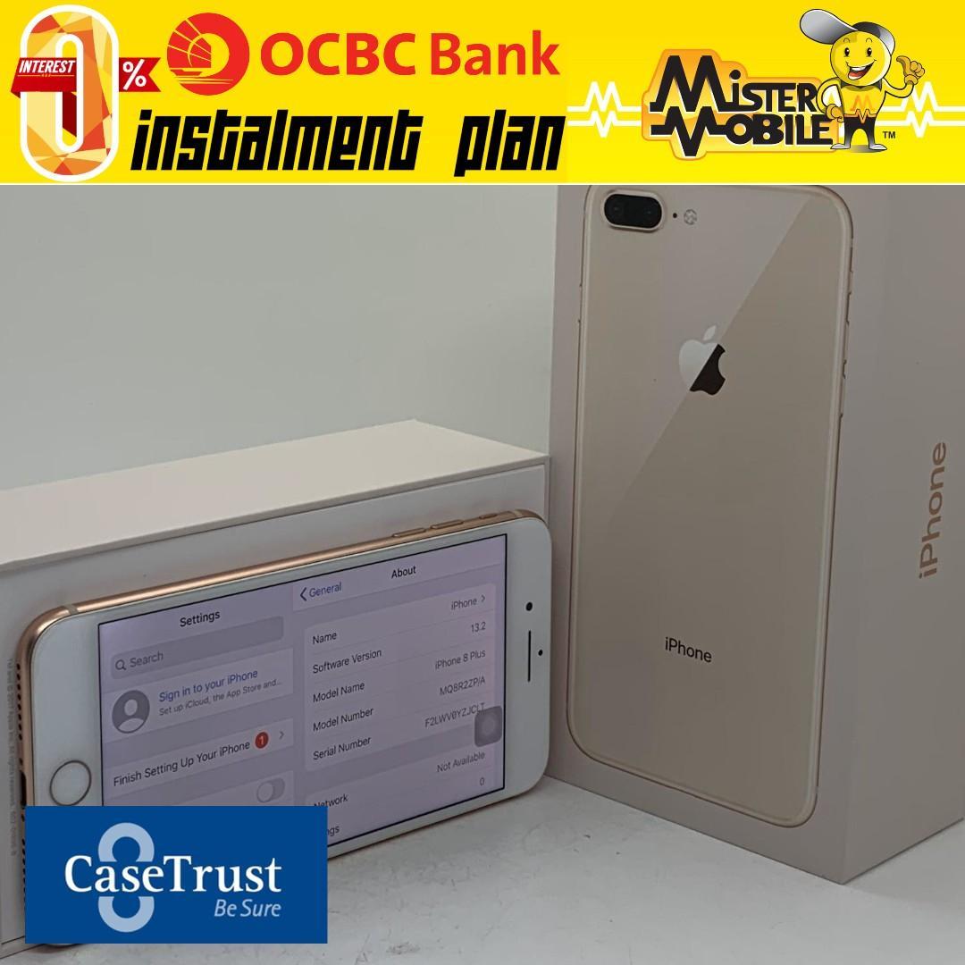 iPhone 8 Plus 256GB Gold White 8 + 256 Used Apple Local