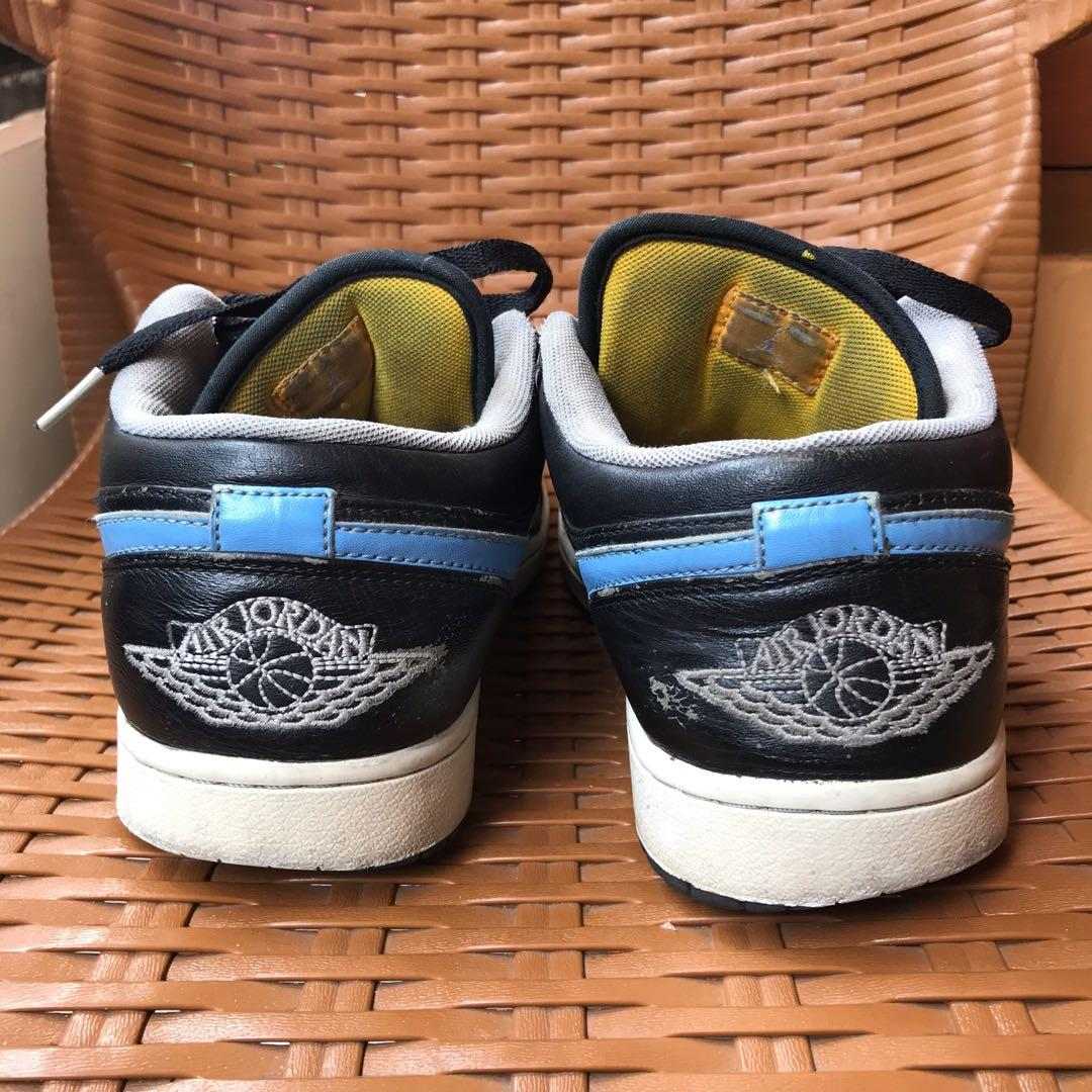 Jordan Low Phat Black Blue