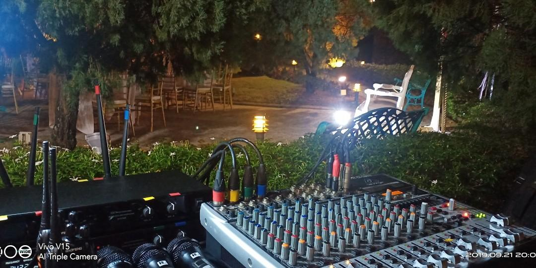 Karaoke pa system rental pa sistem