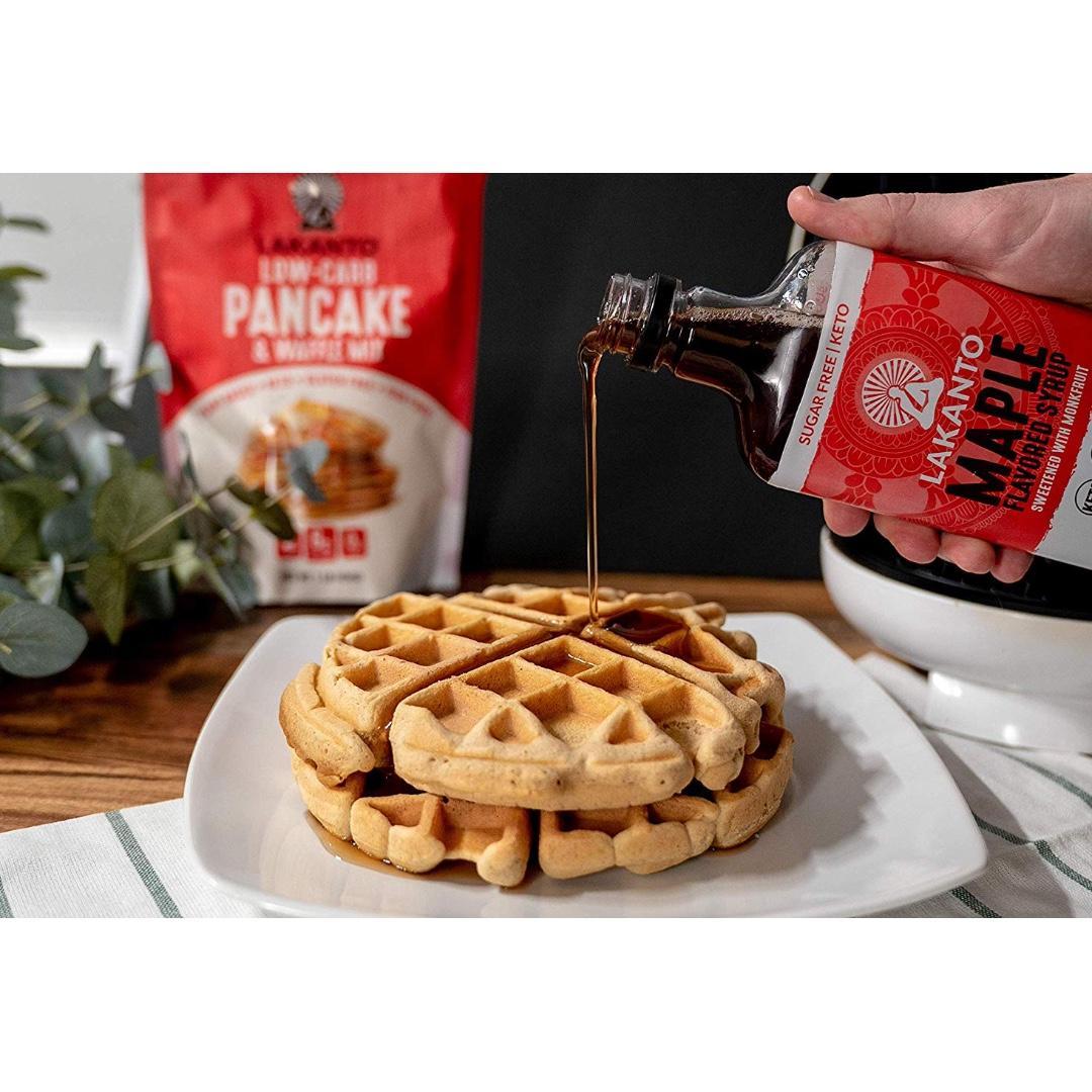 Lakanto Maple Flavored Sugar-Free Syrup, No Sugar Alcohols 13 Fl Oz