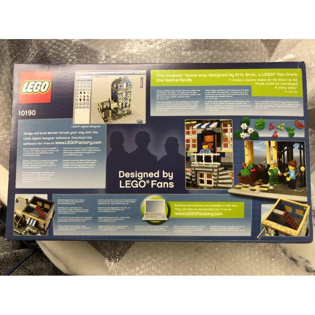 全新Lego 10190 Factory 樂高 絕版 NISB new in sealed box 10182 10185 神物