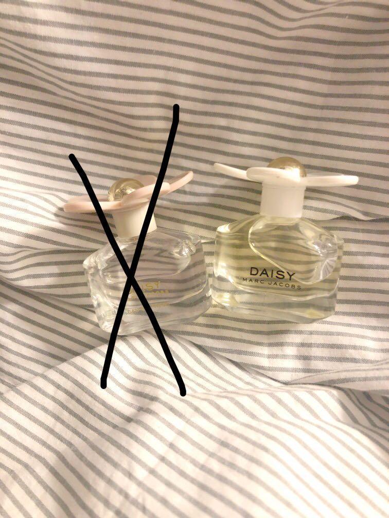 Marc Jacobs mini perfumes daisy 4ml 小雛菊迷你香水 香水版 小雛菊香水