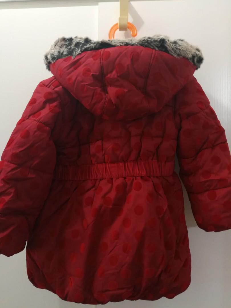 Marks & Spencer 英國4歲autograph女童外套 Jacket