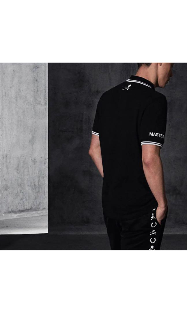 Mastermind world x Fred Perry x END. Polo