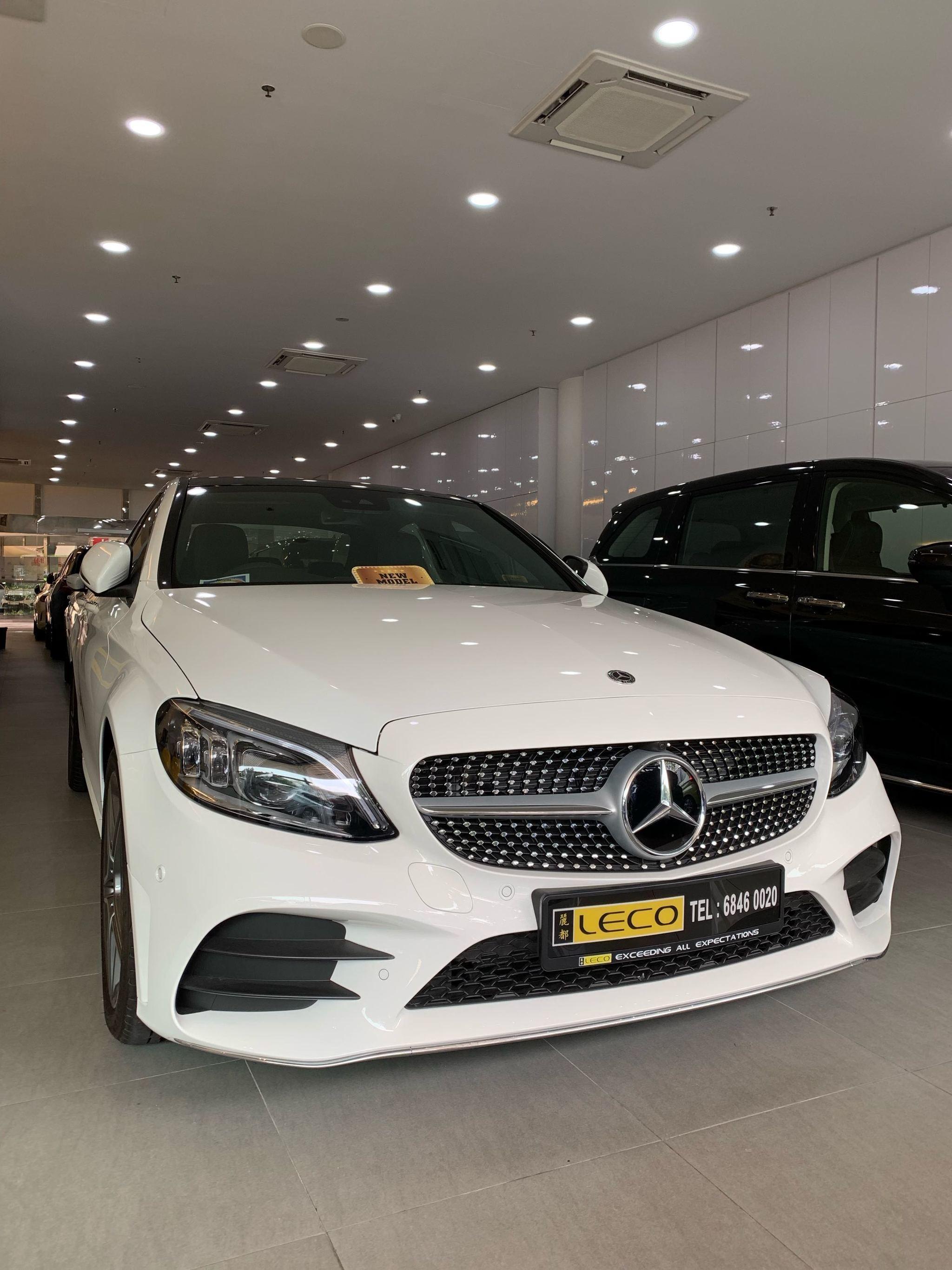 Mercedes-Benz C-Class Saloon C200 AMG Line Premium (A)