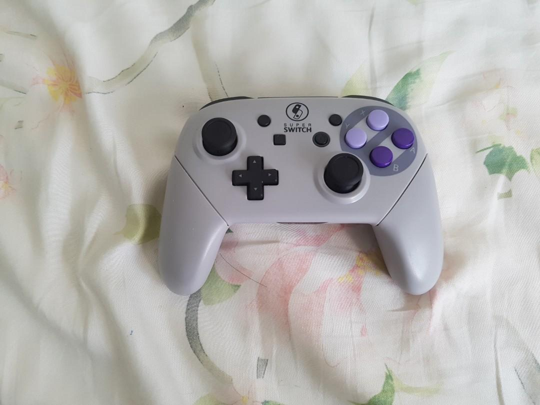 Modded nintendo switch pro controller