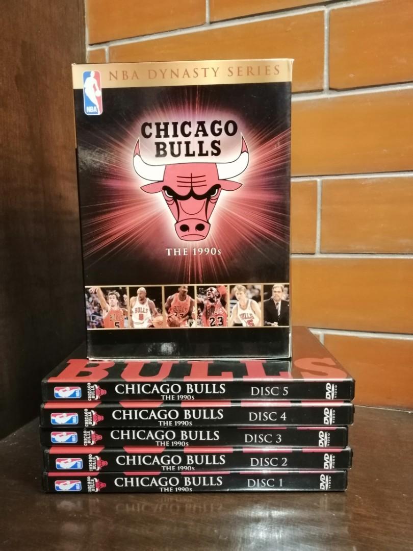 NBA Dynasty Series Chicago Bulls DVD Set (5 DVDs) Michael ...