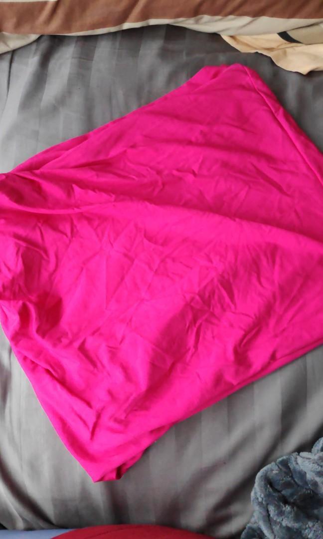 Neon Pink Kookai Skirt