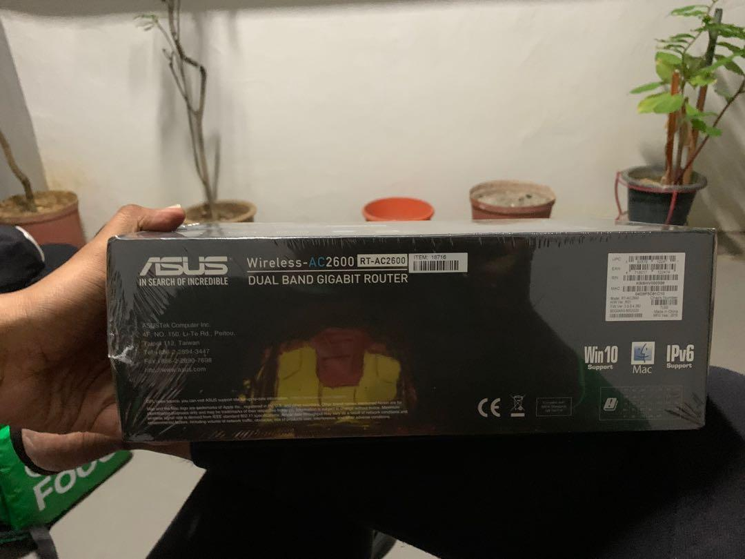 NEW ASUS ROUTER!