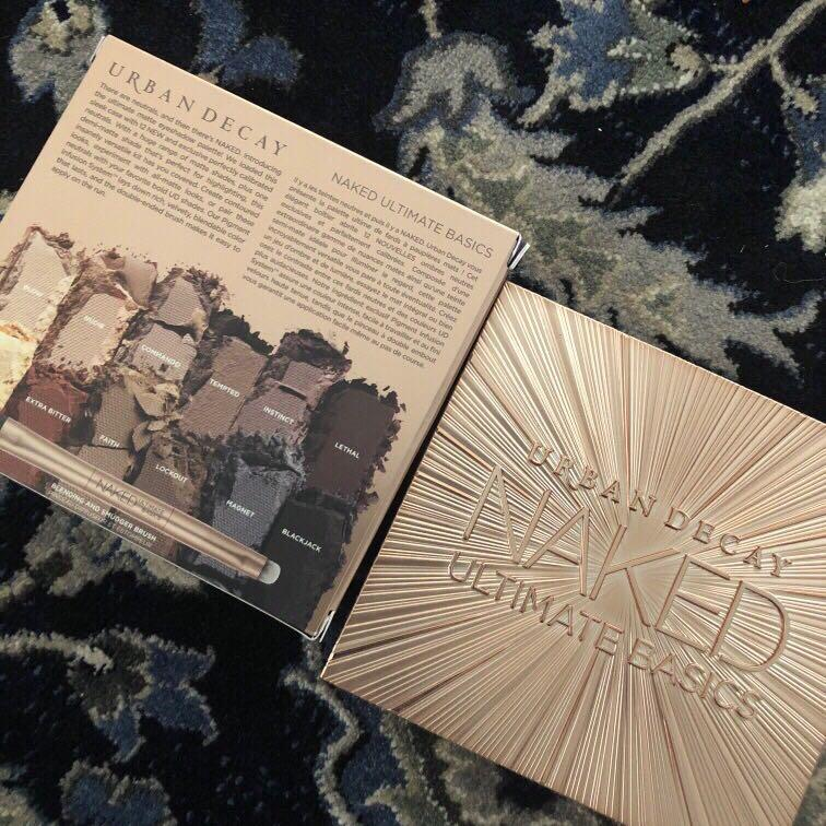 NEW urban decay naked ultimate basic mattes  Eyeshade Palette