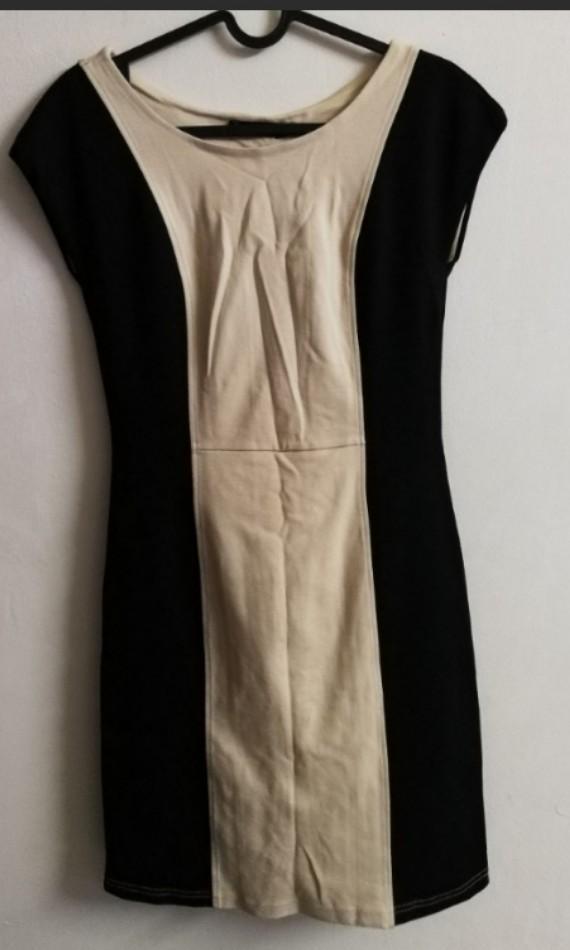 Nichii Lace Up Work Dress