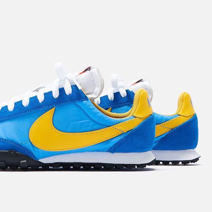 Nike Waffle Racer Blue x Yellow
