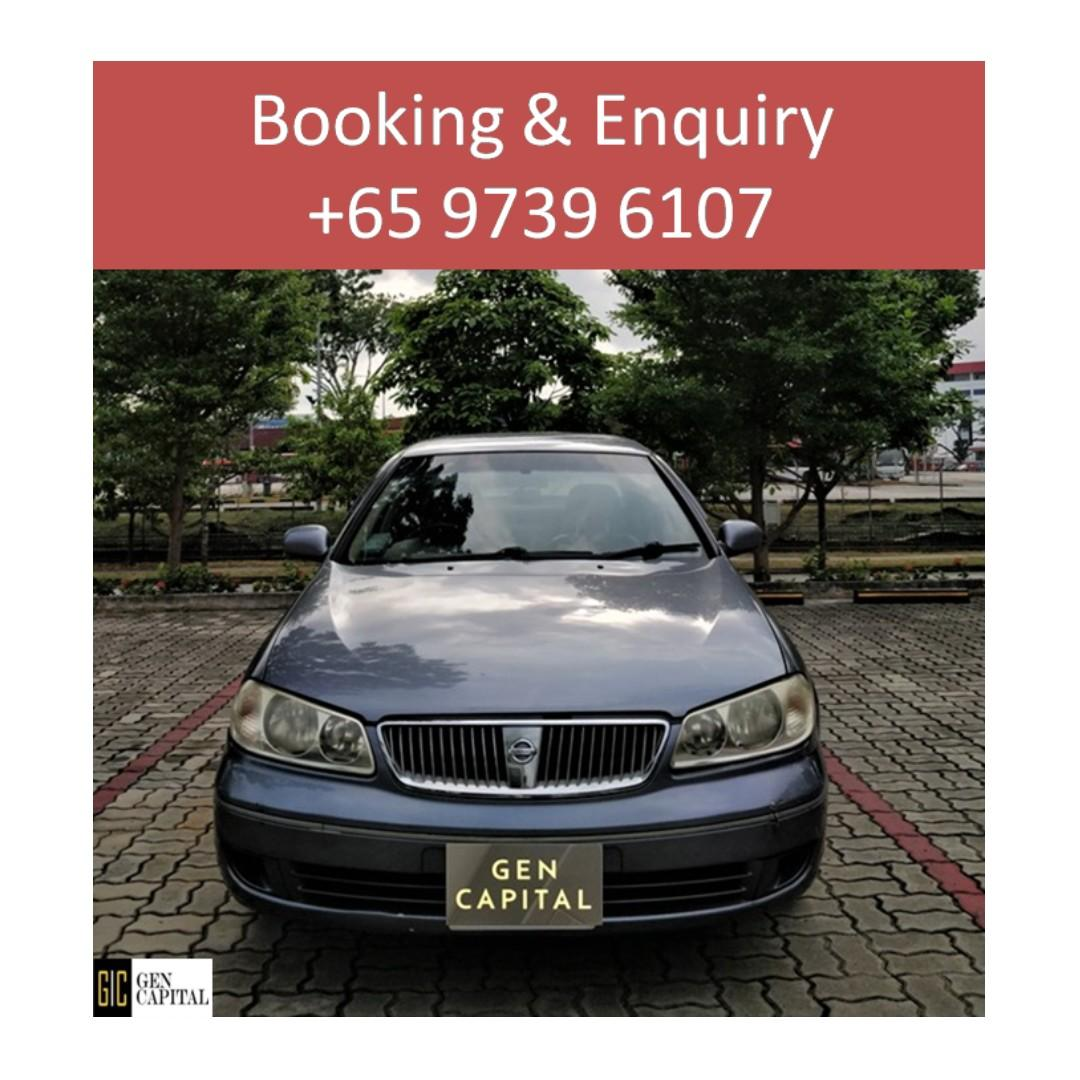 Nissan Sunny Manual -  Lowest rental rates, with the friendliest service! Anytime ! Any day! Your Decision!!