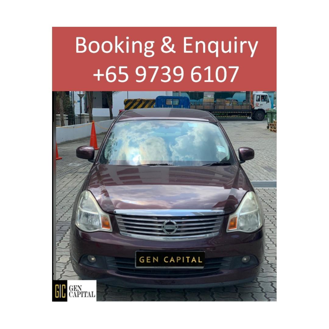 Nissan Sylphy - Lowest rental rates, with the friendliest service! Cheapest rates, full support!