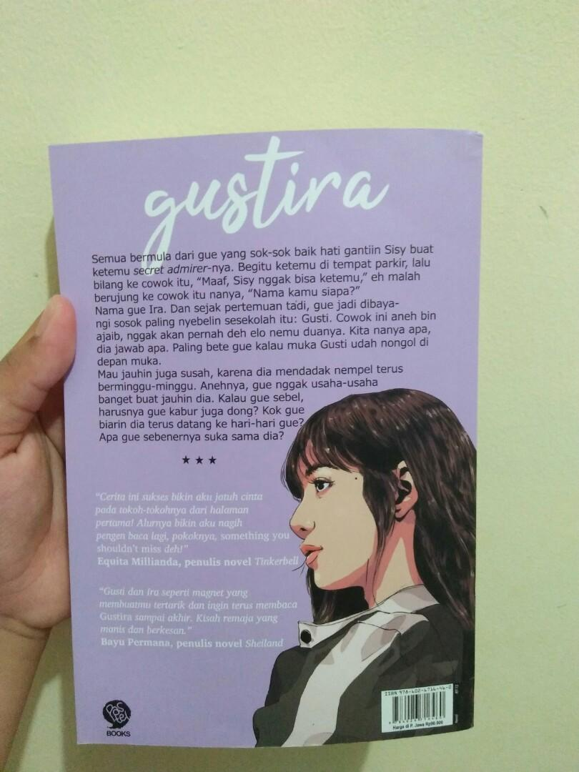 novel GUSTIRA - KATA KOKOH