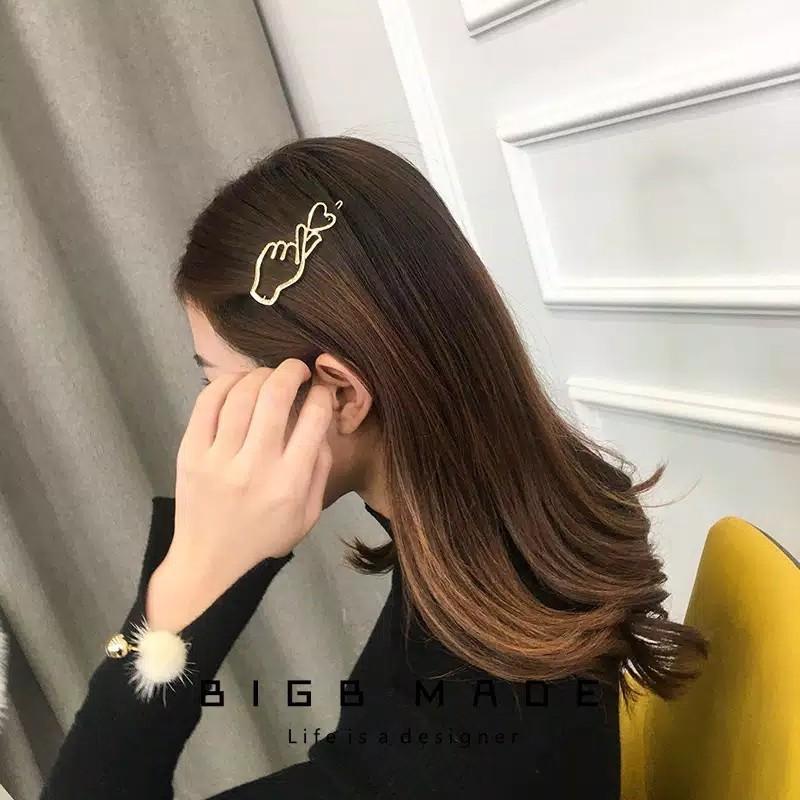 OPEN PO Fingerheart hairpin