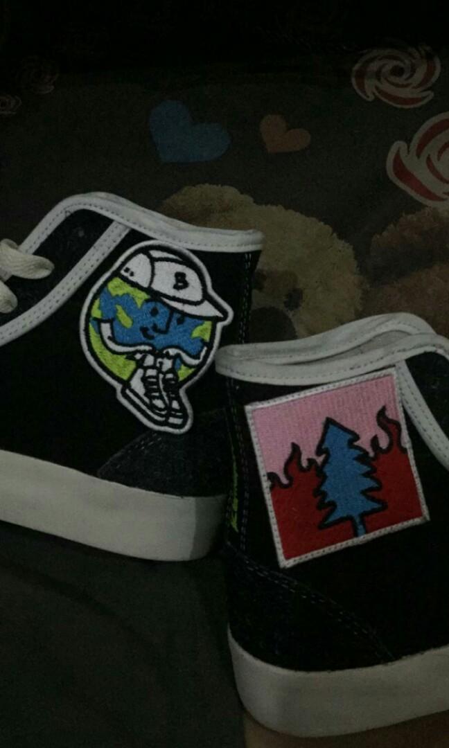 Pijak Bumi X Kevinswork Mens Fashion Mens Footwear