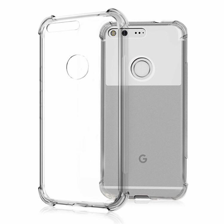 PO Google Pixel Clear Transparent Case