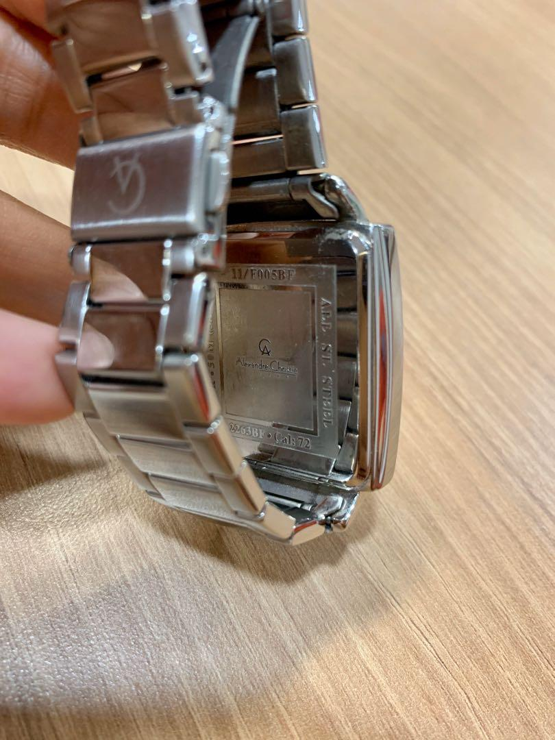 Preloved Alexandre Christie watch