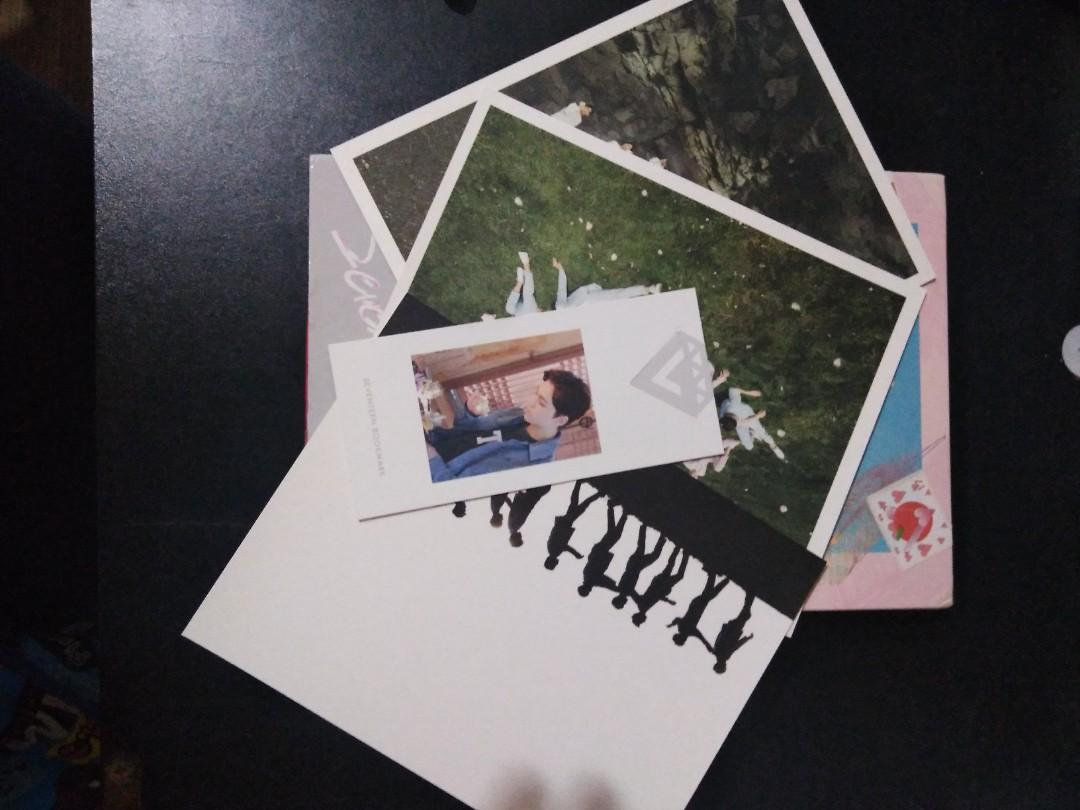 SEVENTEEN LOVE VER WITH VERNON BOOKMARK   #CarousellBelanja