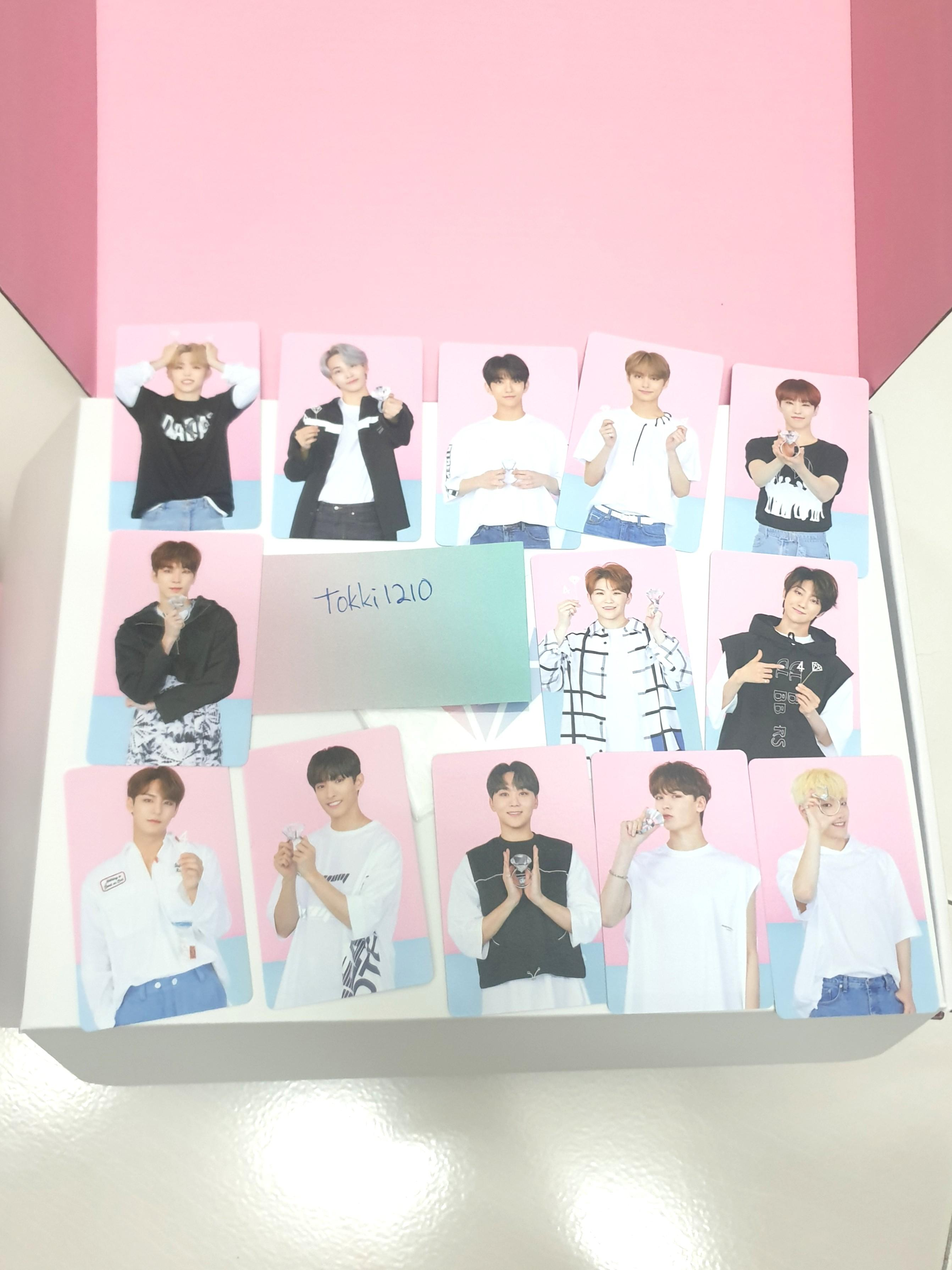 seventeen official fanclub 4th carat fankit photocard