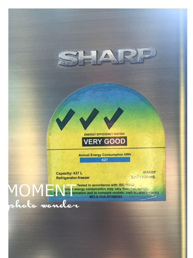 Sharp Fridge 437L