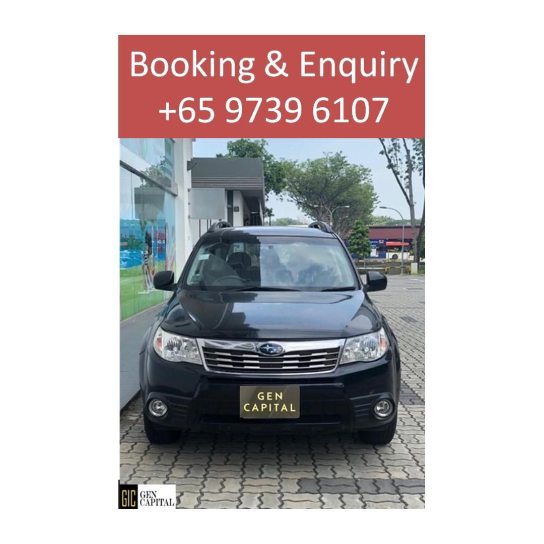Subaru Forester - Lowest rental rates, with the friendliest service! Your preferred rental, With the Best service!