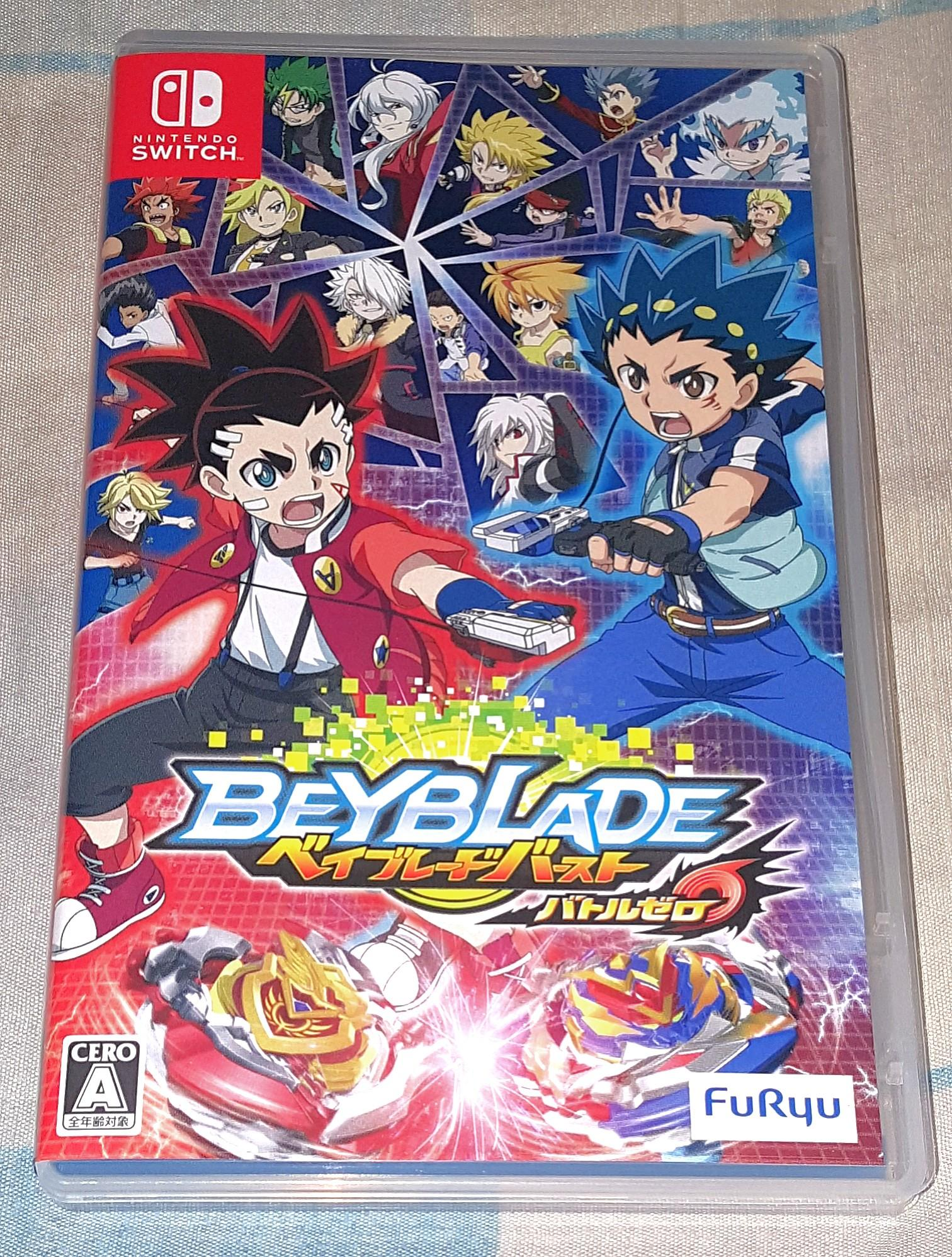 Switch Game, BeyBlade Game, Japanese Ver. 100% Work.