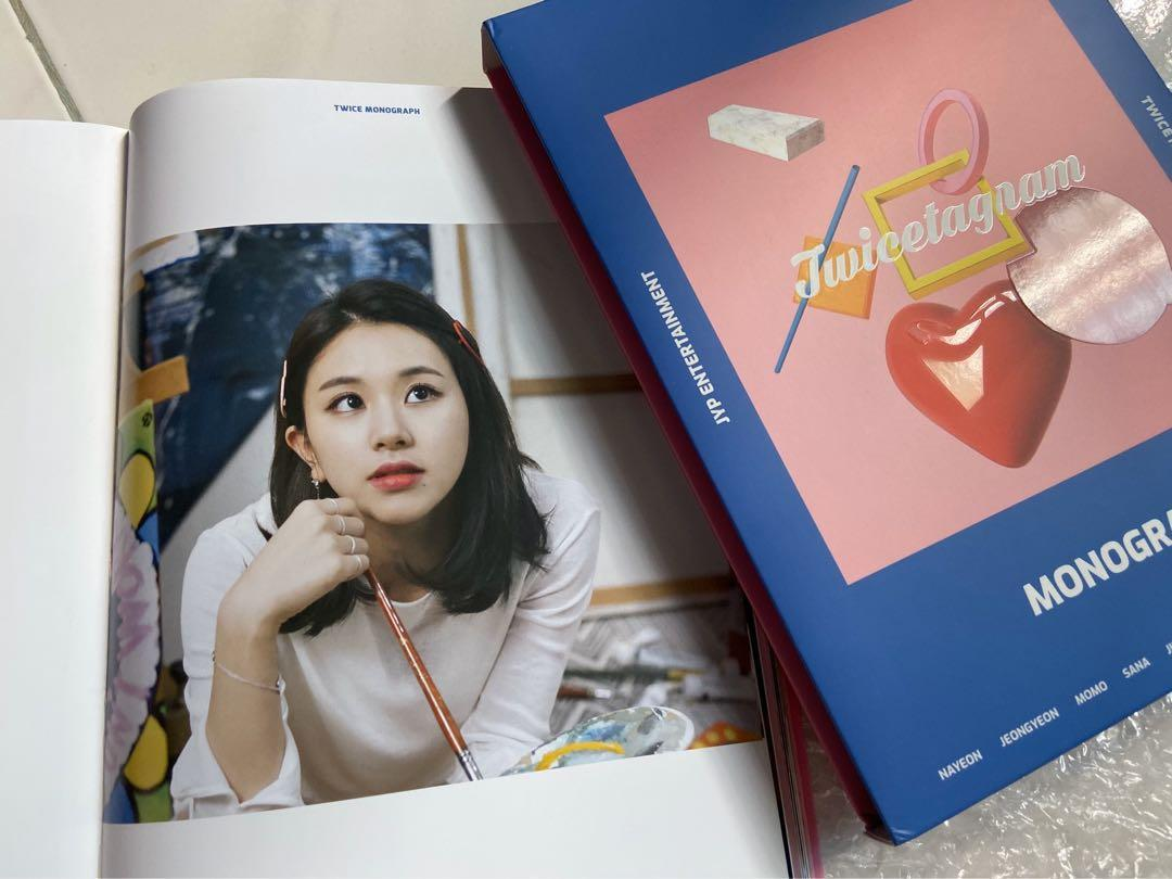 TWICE - TWICETAGRAM MONOGRAPH (Limited Edition) (UNSEALED)