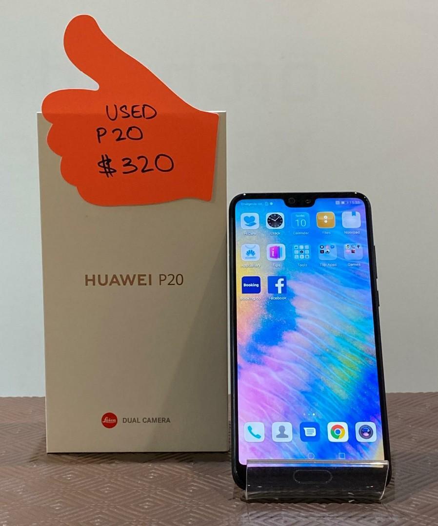 Used Huawei P20 Black